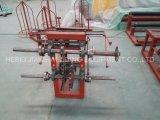 Gerade verdrehte sechseckige Draht-Filetarbeits-Rückmaschine