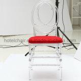 Cadeira Tiffany em acrílico transparente de Chiavari cadeira com assento