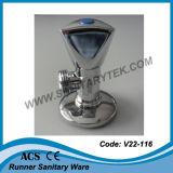 Soupape de cornière Polished de chrome (V22-116)