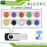 HochgeschwindigkeitsWiFi USB 3.0 16GB, drahtloser USB für Anteil-Video, Musik durch Smartphone