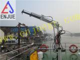 гидровлический малый кран рыболовства крана Davit размера 1t с телескопичным заграждением