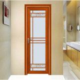 Seules portes en verre en aluminium imperméables à l'eau décoratives de salle de bains