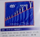 10PCS 8-32 Geplaatste Moersleutels van de Pruim van de Hulpmiddelen van de Hand de Metrische