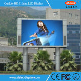 P10 al aire libre a todo color del panel de LED gigantes con impermeable