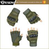 Guanti militari di riciclaggio dell'esercito di caccia della barretta mezza tattica di Airsoft
