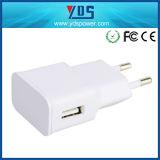 Uso y tipo eléctrico cargador del teléfono móvil de la pared del USB de 5V