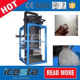 Icesta 1t/24hrs la refrigeración por aire 1000kg Fabricante de máquina de hielo de tubo