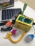 12W 12V 17ah самонаводят наборы пользы и освещения напольной пользы портативные солнечные