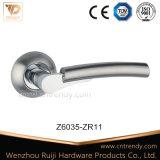 Zinc Interiror Poignée de porte Poignée de verrouillage Poignée de matériel de verrouillage (Z6110-ZR03)