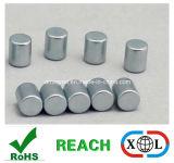 Zylinder-Neodym-Magnet mit Nickelplattierung