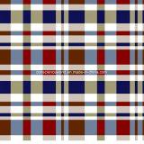100%Polyester меньшяя шотландка Pigment&Disperse напечатало ткань для комплекта постельных принадлежностей