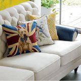 Sofá americano de la tela del estilo de país para el uso casero (M3007)