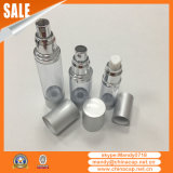 De aluminio del bolsillo de plástico botella del aerosol de perfume con la bomba y la cubierta
