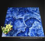 Azul esmaltado pulido luz completa del azulejo de suelo de la porcelana de la carrocería del material de construcción del azulejo de Foshan (BMG19P)
