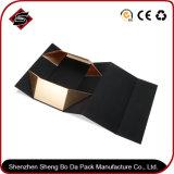 Rectángulo de regalo de papel de empaquetado modificado para requisitos particulares del diseño con el rectángulo plegable