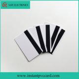 O dobro toma o partido cartão imediato Printable do PVC da listra magnética