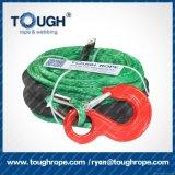 Dyneema tejido la cuerda/la cuerda trenzada sintetizada para la cuerda del torno