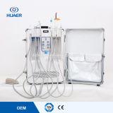 1 Jahr-Garantie-beweglicher zahnmedizinischer Stuhl-bewegliches zahnmedizinisches Gerät