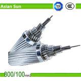 Conductor reforzado acero de aluminio del perro de ACSR