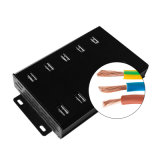 10 portas 36W 600mA USB Charger USB2.0 Hub de carregamento