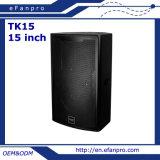 Alto-falante do monitor de piso de áudio PRO de 15 polegadas com cor branca (TK15 - TACT)