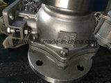 Válvula de bola flotante con superficie de montaje ISO