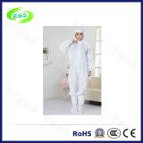 Одежда работы Cleanroom ESD с крышкой (конструкцией) отверстия ноги (EGS-PP21)