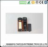 Rotação Cabeça Torch com Gancho Camping Suspensão Trabalho Lanterna