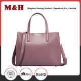 Les femmes en cuir véritable rose Portable sac à main