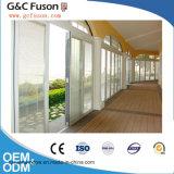Puerta de plegamiento de aluminio de la alta calidad de China