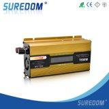 Инвертор силы Ukc автомобиля AC 12V-110V LCD 1500W DC
