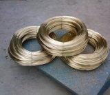 Fil en acier revêtu en laiton spécial utilisé pour le tuyau en caoutchouc