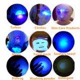 fluorescência do detetor do jade do dinheiro de 395nm 365nm diodo emissor de luz violeta da mini que ilumina a lanterna elétrica UV
