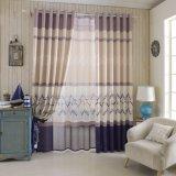 Tissu de rideau en arrêt total estampé par textile à la maison à la mode (01F0007)