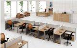 Partition en bois en verre en aluminium moderne de poste de travail/bureau de compartiment (NS-NW024)