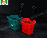 Plástico de supermercado Carrito práctica cesta de compra
