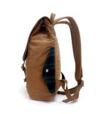 Venda por atacado nova da trouxa do curso do saco do estudante do saco de ombro da cor contínua da maré do saco de ombro da lona