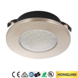 Aluminium des Cer-1.5W vertiefte im Schrank-Quadrat-Schrank-Licht LED