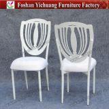 Metal empilhável branco Usado Cadeiras de banquete com assento removível Cuhion (YC-A278)