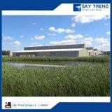 Hangar de métal pour la vente de volailles