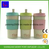 500ml 18ozは生物分解性高品質のムギのファイバーの空想のコーヒーカップを卸し売りする