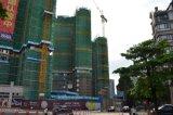 Hydraulische Bouw die Topless Kraan van de Toren bouwt