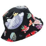 Pesca simples moda personalizada barato Caçamba Impresso Floral grossista HAT