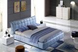 Bâti moderne élégant neuf de cuir véritable (HC328) pour la chambre à coucher
