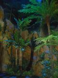 공룡 세계를 위한 인공적인 Alsophila Spinulosa 고비 나무