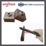 63HRC Crusher Hammer Tips Stredder Hammer Tips für Shredding