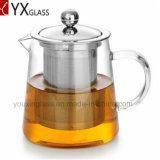 Verre résistant à la chaleur de haute qualité du thé avec crépine en acier inoxydable Pot de Fleur de thé en plein essor bouilloire carafe en verre de l'eau théière défini