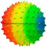 Bola de massagem de bola esportiva do arco-íris para o jogo infantil