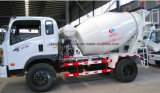 Petit camion de la colle prix de camion de mélangeur concret de 5 mètres cubes