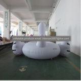 Galleggiamento gonfiabile adulto gigante dell'acqua del giocattolo del raggruppamento del fenicottero